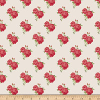 Penny Rose Harry & Alice Go To The Sea Small Floral Red