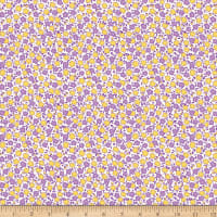 Penny Rose Storytime 30s Floral Purple