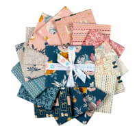Riley Blake Blooms And Bobbins Fat Quarter Bundle 15 Pcs