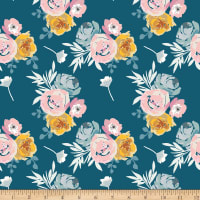 Riley Blake Blooms And Bobbins Main Blue