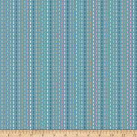 Riley Blake Blooms And Bobbins Stitches Blue