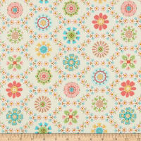 Riley Blake Granny Chic Applique Multi