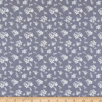 Riley Blake Something Borrowed Floral Dkblue