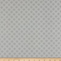 Riley Blake Something Borrowed Scallops Gray LAMINATE