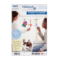 Simplicity 8809 Handwork Studio: Maggie Decorations and Gift Card Holder OS (One Size)