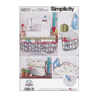 Simplicity 8822 Sewing Accessories OS (One Size)
