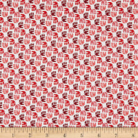Penny Rose Home Again Toss Red
