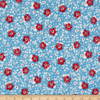 Penny Rose May Belle Floral Blue