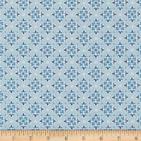 Penny Rose May Belle Wallpaper Blue