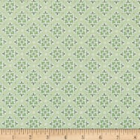 Penny Rose May Belle Wallpaper Green