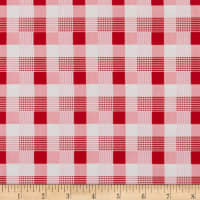 Penny Rose May Belle Plaid Red