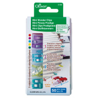 Clover Mini Wonder Clips (Assorted/50 pcs.)