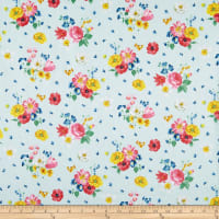 Penny Rose Fabrics-Afternoon Picnic Floral Blue