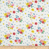 Penny Rose Fabrics-Afternoon Picnic Floral Cream