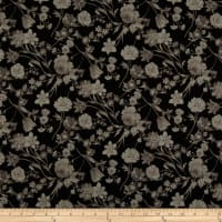 Penny Rose Fabrics-Afternoon Picnic Tonal Black
