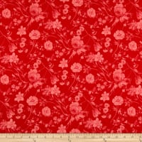Penny Rose Fabrics-Afternoon Picnic Tonal Red