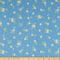 Penny Rose Fabrics-Afternoon Picnic Rose Blue