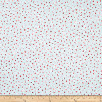 Penny Rose Fabrics-Afternoon Picnic Flower Blue