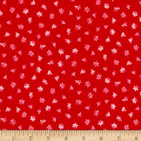 Penny Rose Fabrics-Afternoon Picnic Flower Red