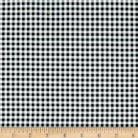 Penny Rose Fabrics-Afternoon Picnic Gingham Black
