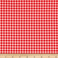 Penny Rose Fabrics-Afternoon Picnic Gingham Red