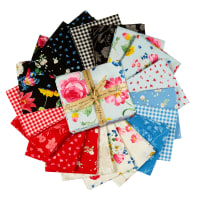 Penny Rose Fabrics-Afternoon Picnic Fat Quarter Bundle, 19 Pcs.