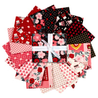 Hello Sweetheart Fat Quarter Bundle, 17 Pcs.