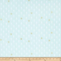 Riley Blake Designs-Lets Be Mermaids Sea Horse Sparkle Mint
