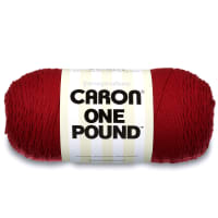 Caron One Pound Yarn, Claret