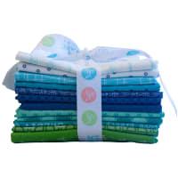 Riley Blake Designs Lori Holt Cool Curated Fat Quarter Bundle 12 Pcs.