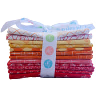 Riley Blake Designs Lori Holt Warm Curated Fat Quarter Bundle 12 Pcs.