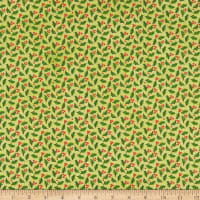 A Quilter's Christmas Jolly Holly Lime