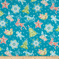 Contempo Christmas Magic Gingerbread Teal
