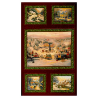 "Contempo Spirit of Christmas 24"" Panel Multi"