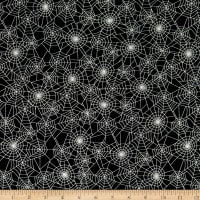 Kanvas Faboolous Fun Glowing Webs Black/White