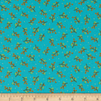 Contempo Thankful Berries Teal