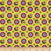 Benartex Orleans Collette Yellow