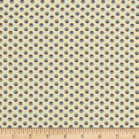 Benartex Orleans Georgette Cream