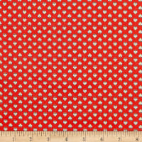 Benartex Orleans Georgette Red