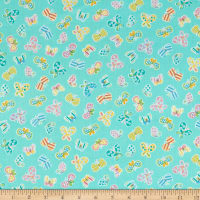 Kanvas Some Bunny Loves You Spring Butterflies Medium Aqua