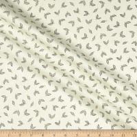 Benartex Jubilee Little Leaves Cream