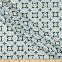 Kanvas Limoncello Pearl Flower Ikat Gray
