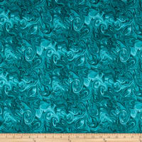 Benartex Born To Run Painted Desert Turquoise