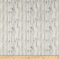 Benartex Born To Run Wood Plank Light Grey