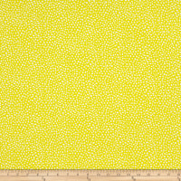 Contempo Abstract Garden Seeds Yellow