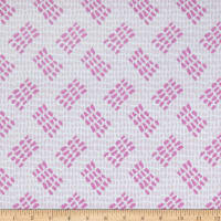 Contempo Abstract Garden Tracks Light Pink