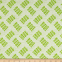 Contempo Abstract Garden Tracks Light Green