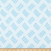 Contempo Abstract Garden Tracks Light Blue