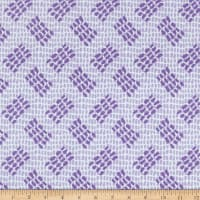 Contempo Abstract Garden Tracks Light Purple