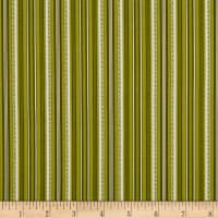 Benartex Stone Cottage 2 Arbor Stripe Green
